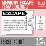 Memory Escape- Secret Agent Activity