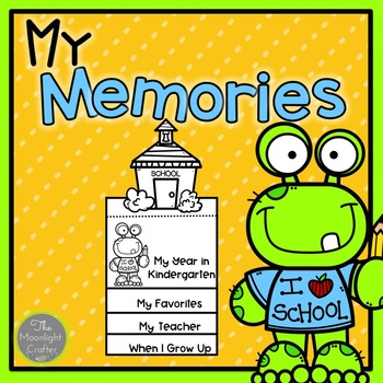 School Memories Flip Book FREEBIE