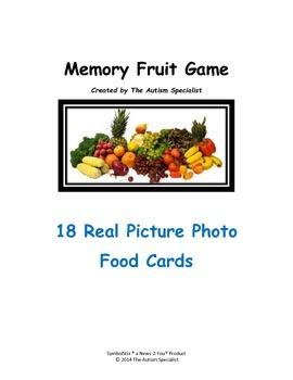 Memory Fruit Game