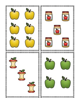 Memory Game Apple Theme