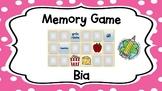 Memory Game: Bia