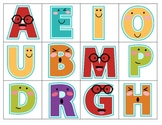 Memory Game: Capitals and Lowercase Letters