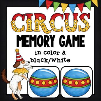 Memory Game ~ Circus