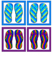 Memory Game (Colorful Pairs of Sandals)