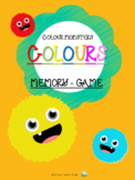 Memory Game - Colour Monsters