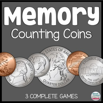 Memory Game: Counting Coins