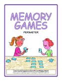 Memory Game - Practice Finding Perimeter