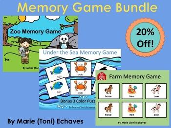 Memory Game Fun Bundle