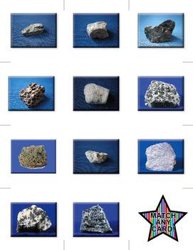 Memory Game – Igneous Rocks