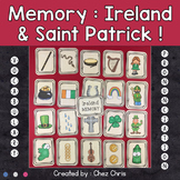 Memory Game - Ireland and Saint Patrick's Day