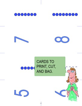 Numbers and Shapes Memory Game