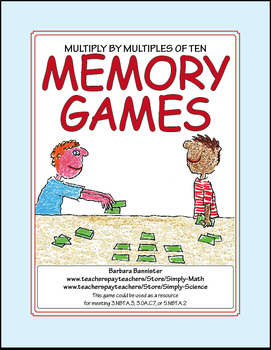 Memory Game - Multiply by Multiples of Ten