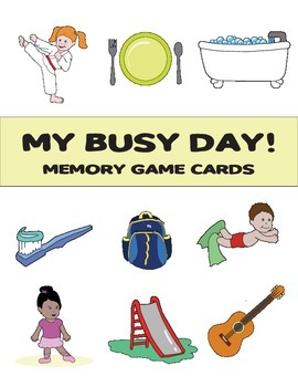 Memory Game: My Busy Day