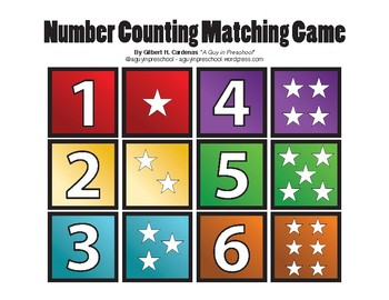 Memory Game - Number Counting Matching