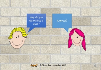 Question and Response Game - Do You Wanna Buy A Duck?
