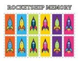 Memory Game - Rocket Ship Theme