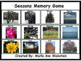 Seasons Memory Game