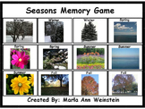 Seasons Memory Game