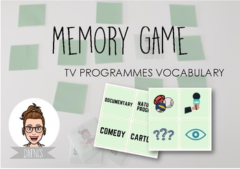 Memory Game: TV Programmes