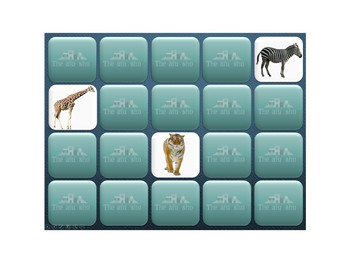 Interactive Memory- Zoo Animals