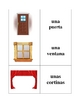 Spanish Furniture Memory Game (Can  be used for Flashcards)