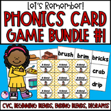 Memory Games 17 Set **BUNDLE** CVC, Beginning Blends, and More!