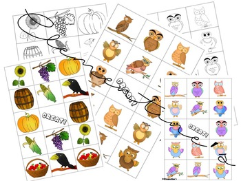 Memory Games: Back to school 2018 - Autumn Themed #BTS2018