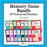 Memory Games Bundle - 16 Themes and Holidays Centers, Game