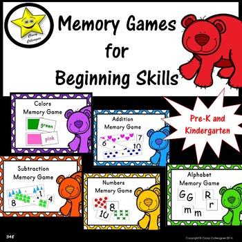 Memory Games for Beginning Skills