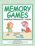 Memory Games for Subtraction Facts