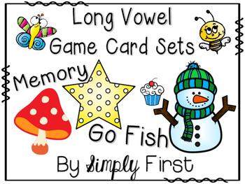 Memory & Go Fish Game Cards: BUNDLE!