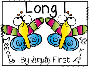 Memory & Go Fish Game Cards: Long I