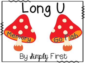 Memory & Go Fish Game Cards: Long U