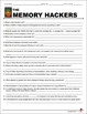 Memory Hackers Video Guide/Movie Guide with Video Weblink (Psychology)