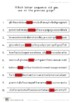 Memory Hidden 4 Letter Sequence (Visual Sequential Memory Worksheets)
