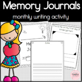 Memory Journals - Beginner Writers Activity for Kindergarten