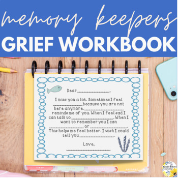 photo relating to Printable Grief Workbook titled Grief Workbook Memory Keepers Counseling Routines