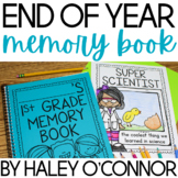 End of the Year Memory Book {Kindergarten, First, and Second Grade}