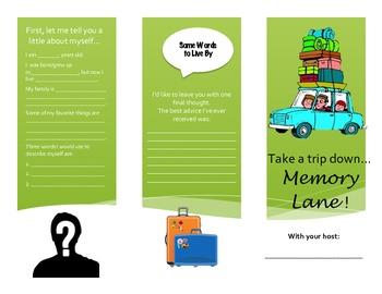 Memory Lane Travel Brochure