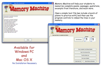Memory Machine for Mac OS X Version 2.0