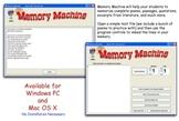 Memory Machine for Windows PC Version 2.0