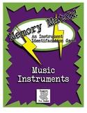 Music Centers - Memory Match Freebie!