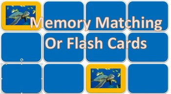 Memory Matching & Flash Cards (PowerPoint) Template