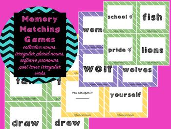 Memory Matching Games