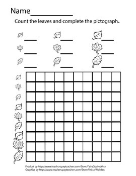 Memory Matching, Sorting, Counting Leaf Cards with 2 Corresponding Worksheets