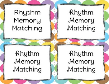 Memory Matching (Ta, Ti-ti, and Rest)