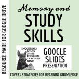 Memory, Mnemonics, and Study Skills for High School Studen