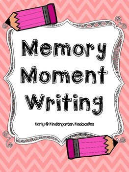 Memory Moment Writing Paper