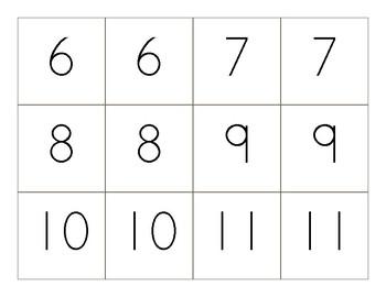 Memory Number Game