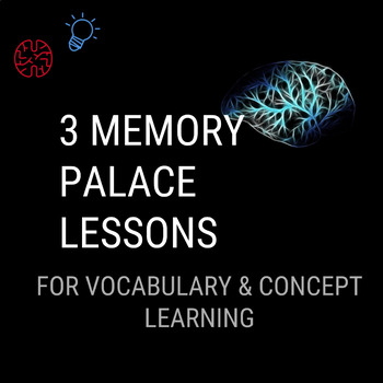 Memory Palace - 3 Lesson Series (Teach Students a Powerful Memory Technique)